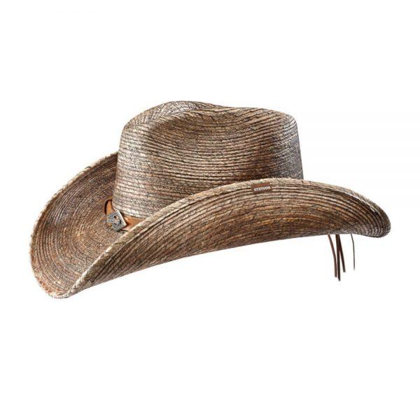 Monterrey Bay (Staine) Western Straw Hat by Stetson